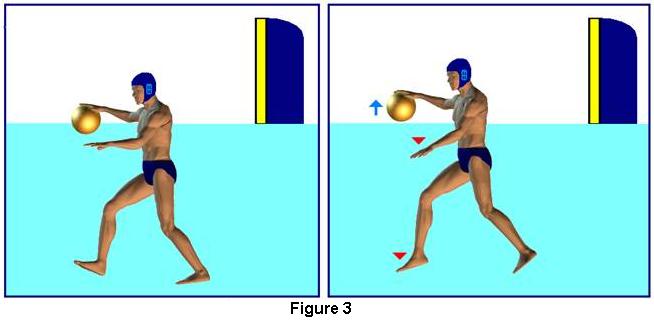 volley under hand pass